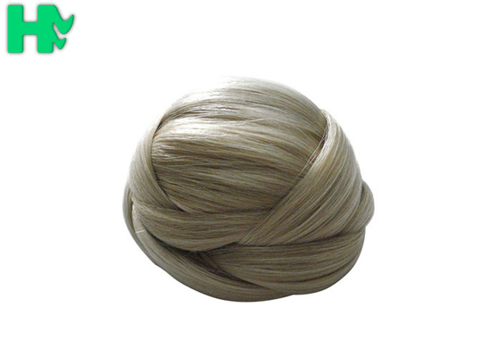 China 7A Fake Kanekalon Synthetic Hair Pieces Chignon Bun Short Hair supplier