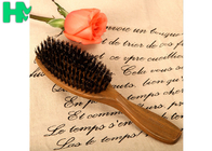 Ebony Material Natural Sandalwood Green Tan Hair Comb , Wooden Comb Style