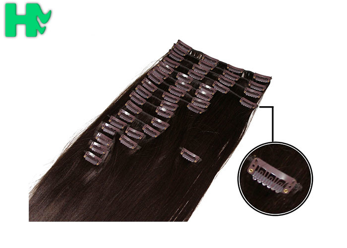7a Synthetic Clip In Hair Extensions Tangle Free Hair Extensions