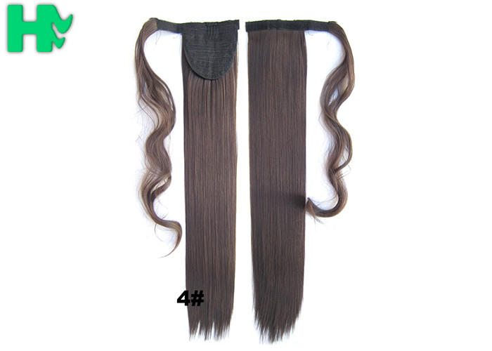 Soft Bond Long Synthetic Heat Resistant Hair Extensions Silky