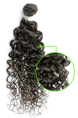 "Kinky Curl 10"" - 32"" Natural Human Hair Extensions 7A Hair Weave"