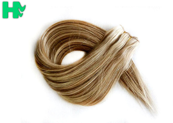 "14""-28""  Long Lasting Synthetic Hair Extensions Weft Soft Tangle Shed Free"