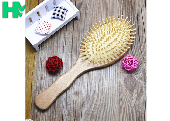 Beech Round Massage Wigs Accessories Hair Styling Combs And Brushes For Women