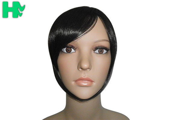 Hair Head Tight And Neat Synthetic Hair Closure Piece , Front Lace Closure