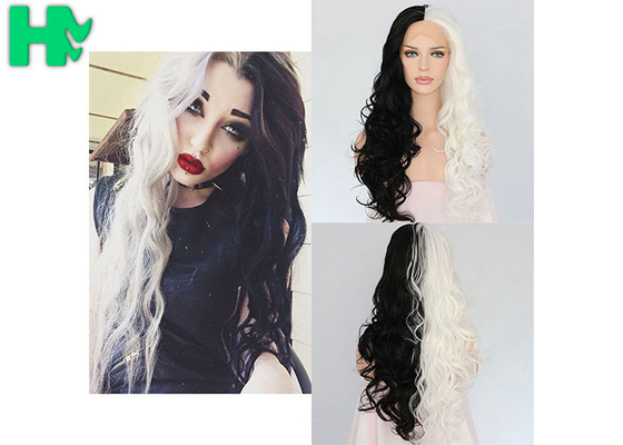 Custom Made Wild Synthetic Cosplay Wigs / Medium Cap Size Artificial Hair Extensions
