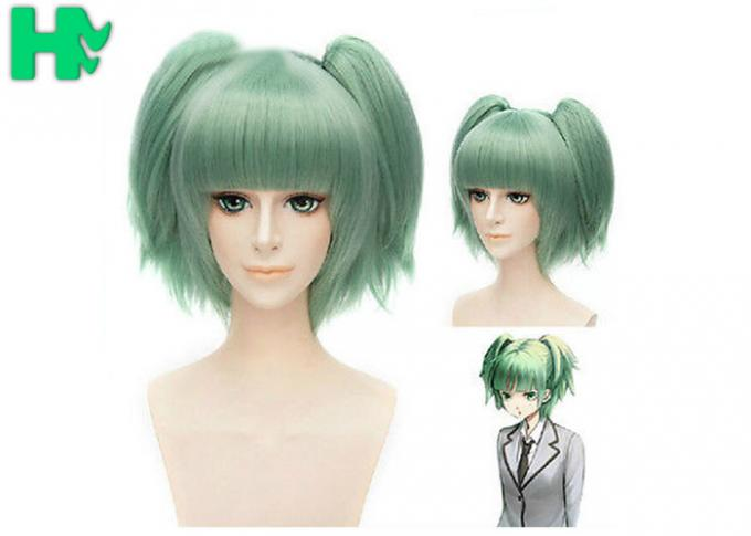 Thick Cute Anime Green Cosplay Wig Heat Resistant Wigs Cosplay