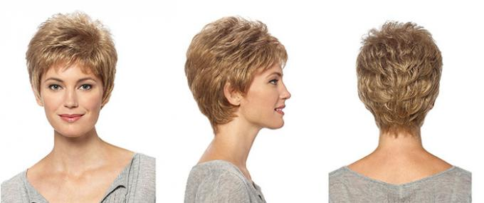 Short Synthetic Wigs Lace Front Wigs With Baby Hairline No Shedding