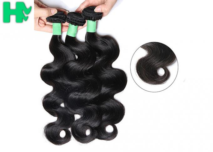 Big Stock Virgin Indian Human Hair Extension Remy Human Hair Body Wave