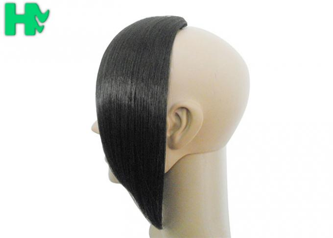 Silky Straight Synthetic Hair Pieces , Synthetic Hair Closure Hair Wavy For Black Women