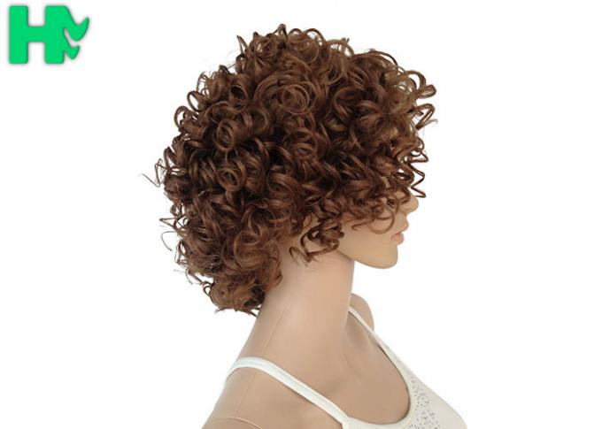 Heat Resistant Synthetic No Lace Short Synthetic Wigs Soft  And Smooth Hair